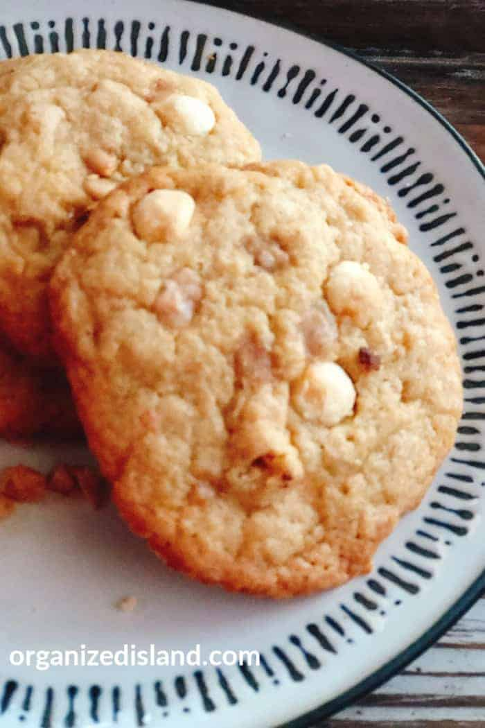 Toffee and Chocolate Chip Cookie Recipe