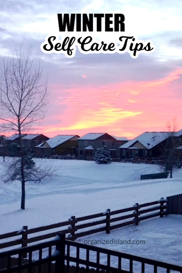 Winter Self Care tips