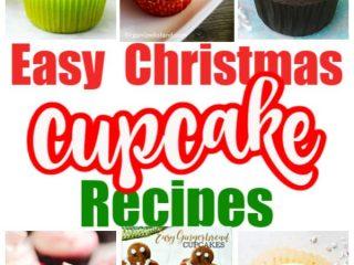 Christmas Cupcake Recipe Ideas