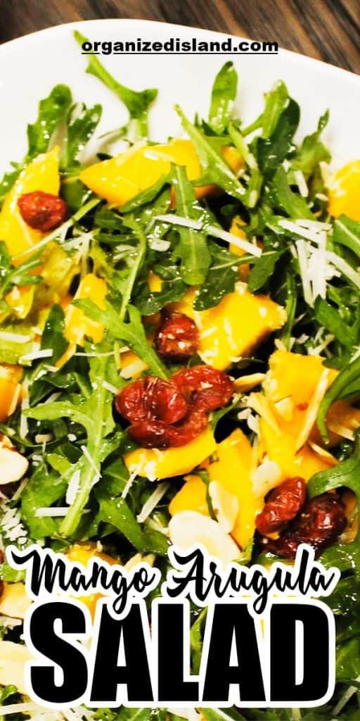 Mango Arugula Salad Recip