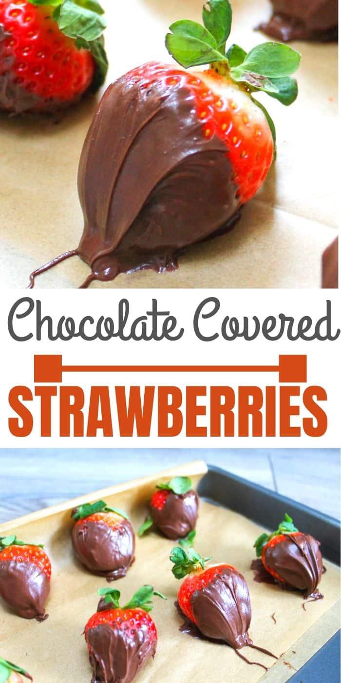 DIY Chocolate Strawberries