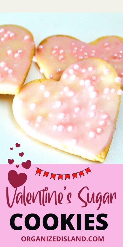Valentine's Sugar Cookies