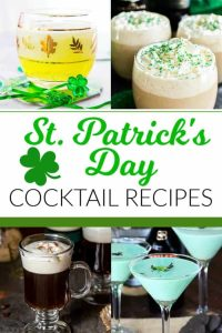 ST PATRICKS DAY DRINK RECIPES