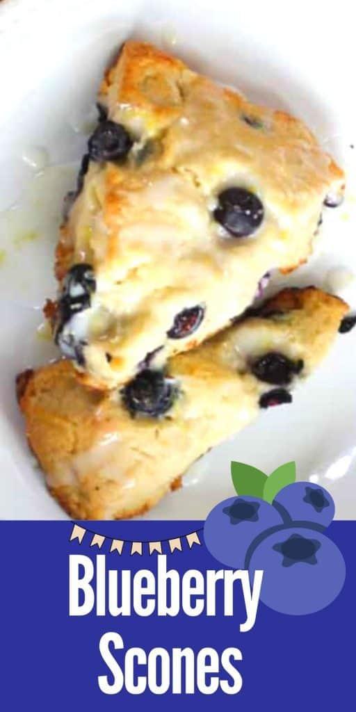 Blueberry Scones Recipe Easy