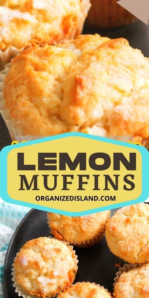 Lemon Breakfast Muffins