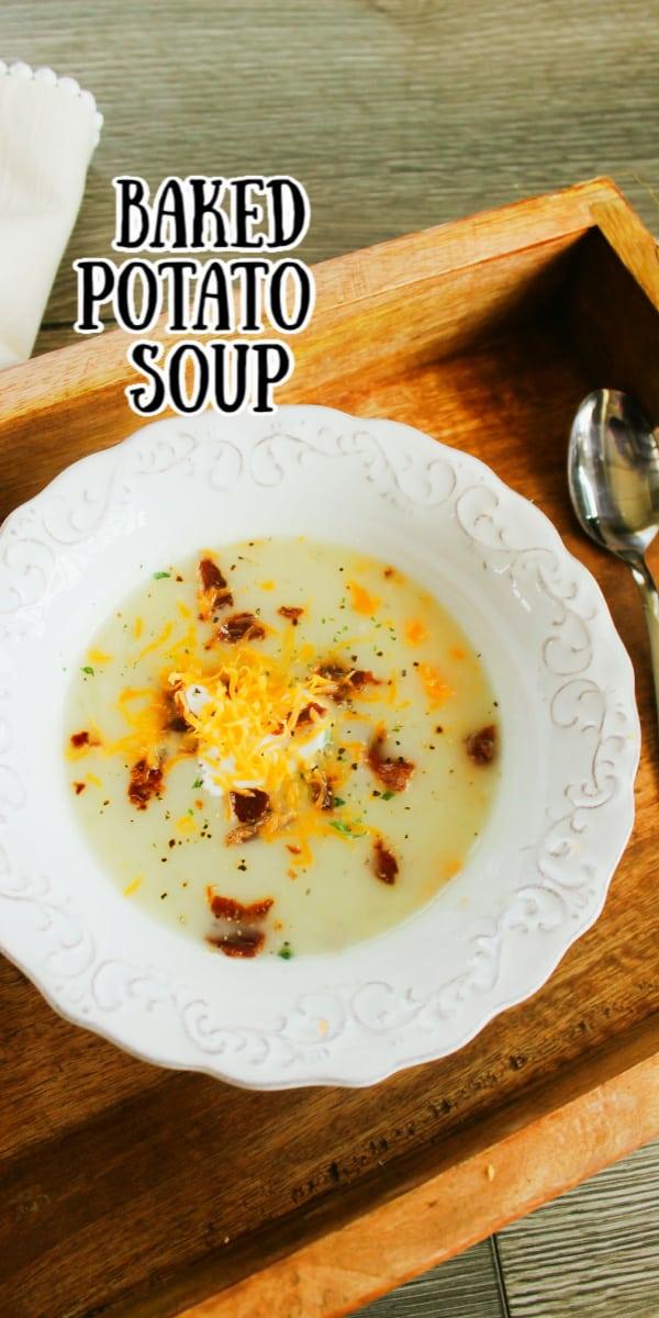 Baked Potato Soup Recipe Easy