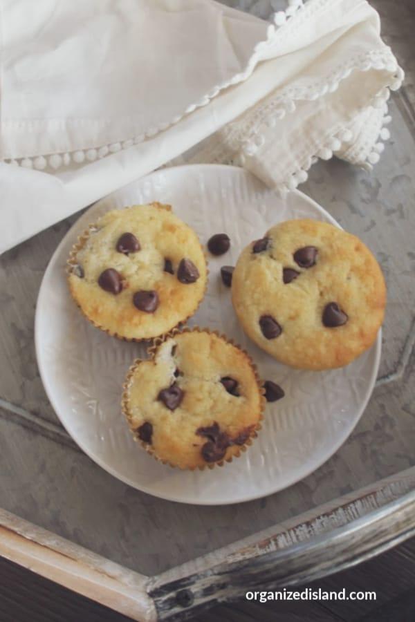 Best Chocolate Chip Muffins