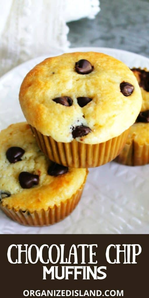 Chocolate Chip Muffins Easy