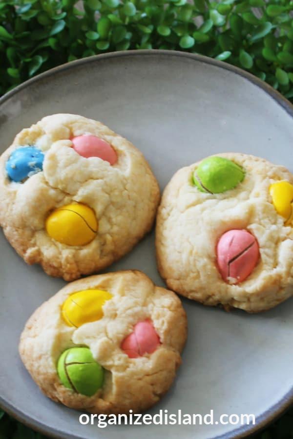 Easter dessert cookies