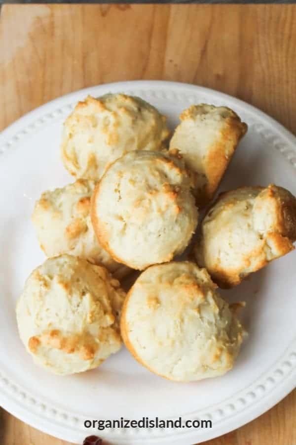 Simple Drop Biscuits