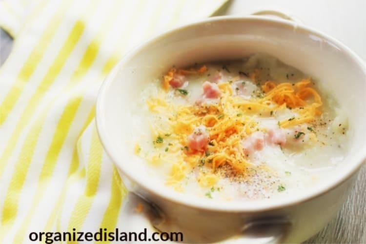 Cheesy Ham Soup Recipe Easy