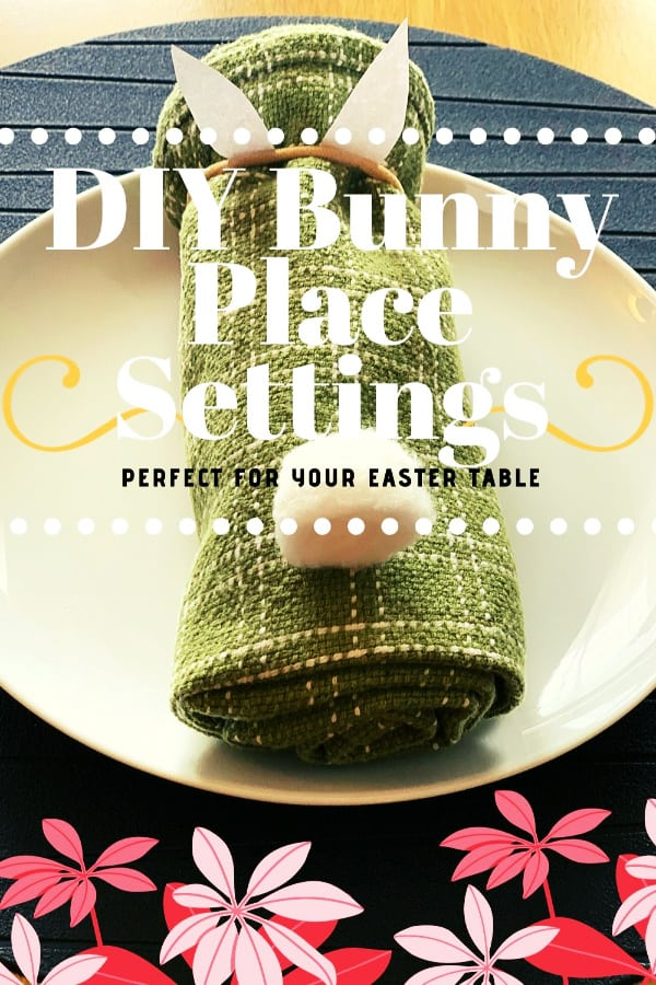 Easter decorating idea for table