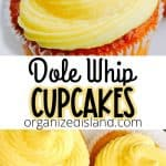 Dole Whip cupcake