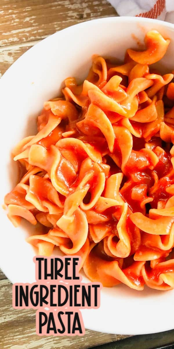 Easy Pasta Recipe Pasta Tomato Sauce