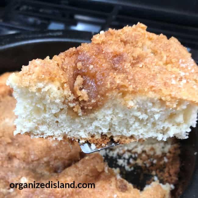 Bisquick Crumb coffee cake