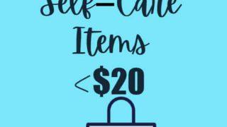 favorite self-care items