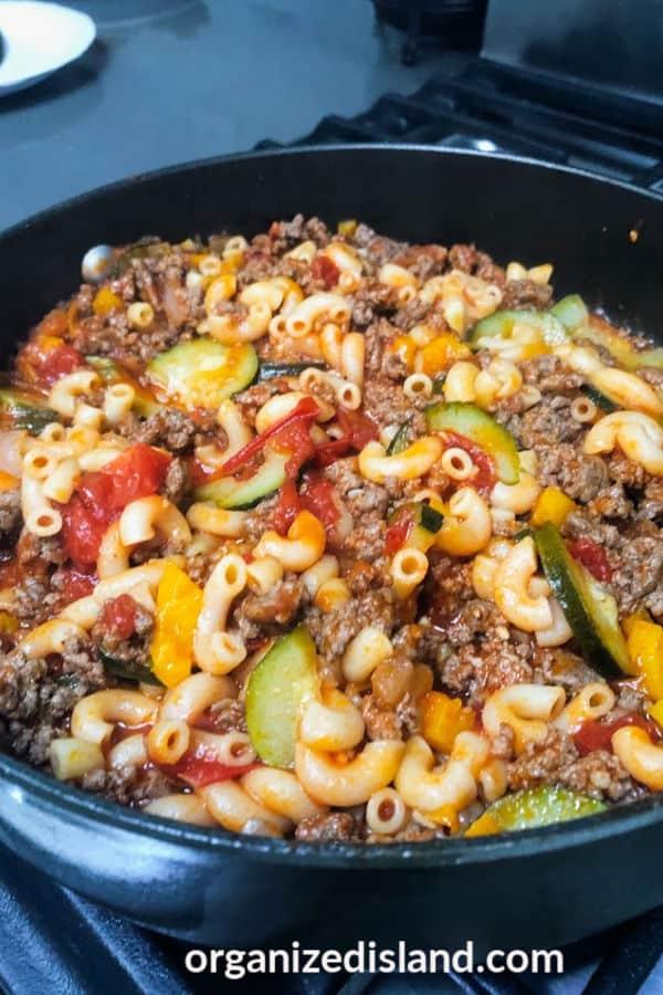 beef pasta recipe easy