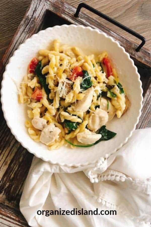 Chicken Florentine recipe