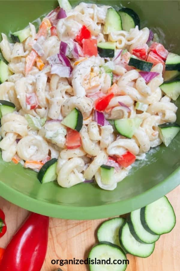 Dill Cold Pasta Salad