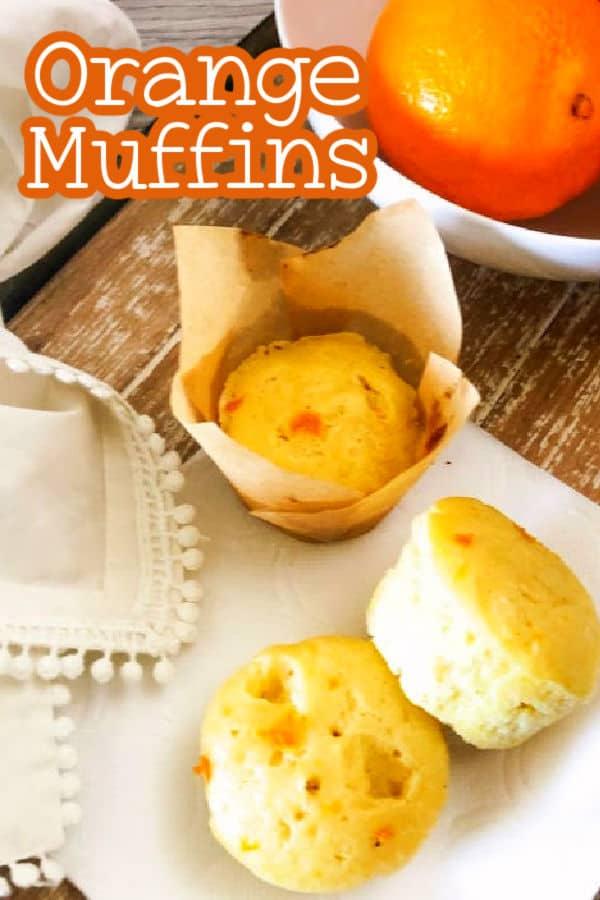 Easy orange muffin