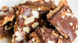 Homemade Candy Almond Roca