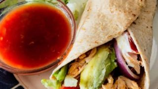 Spicy Chicken Wraps