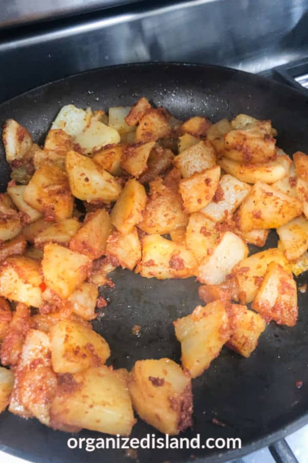 Chorizo Potatoes Recipe