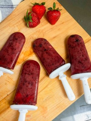 How to make Popsicle Fruit Pops