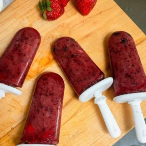 How to make Popsicle Fruit Pops