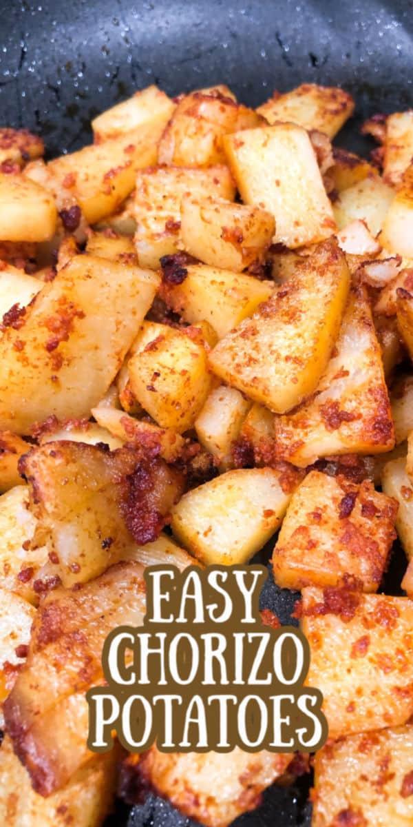 Skillet Potatoes with Chorizo