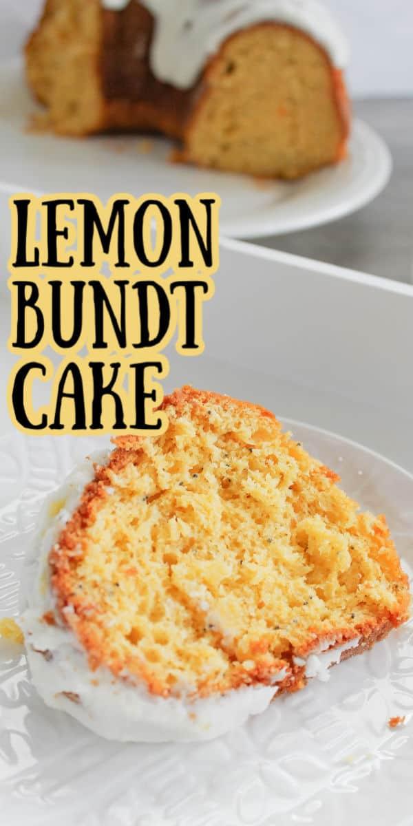Lemon Bundt cake easy