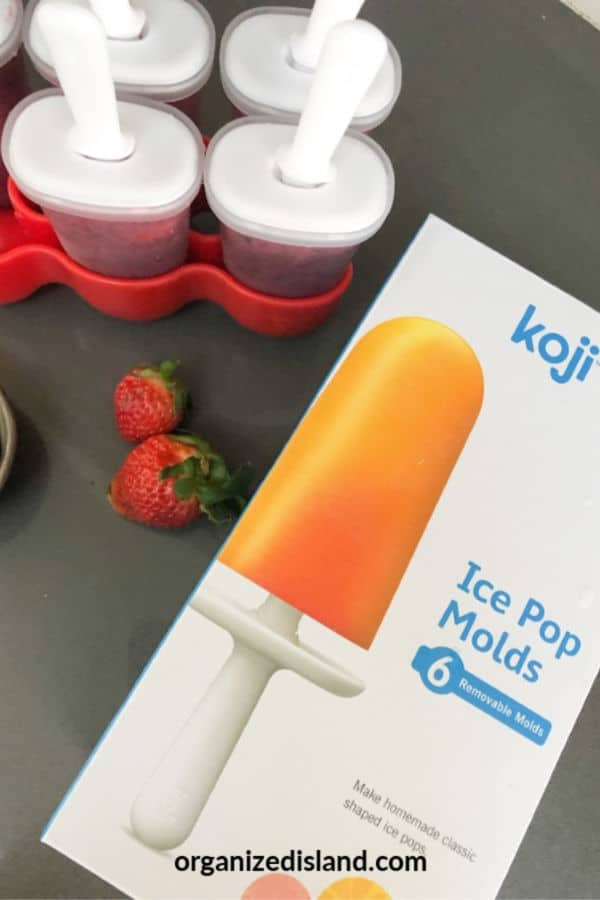 best ice popsicle mold