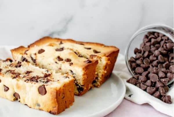 Banana Chocolate Chip Pound Cake