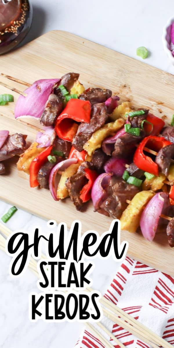 Beef Steak kebobs