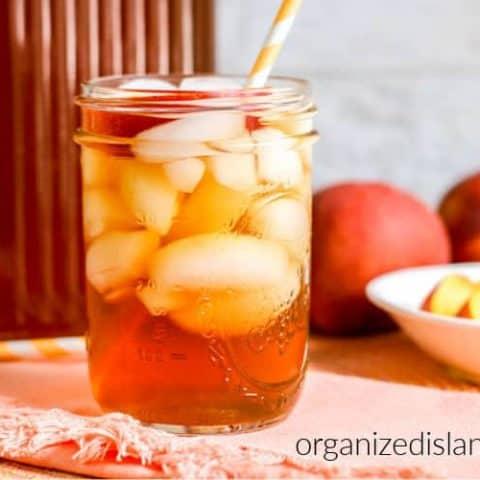 How to make Peach Iced Te
