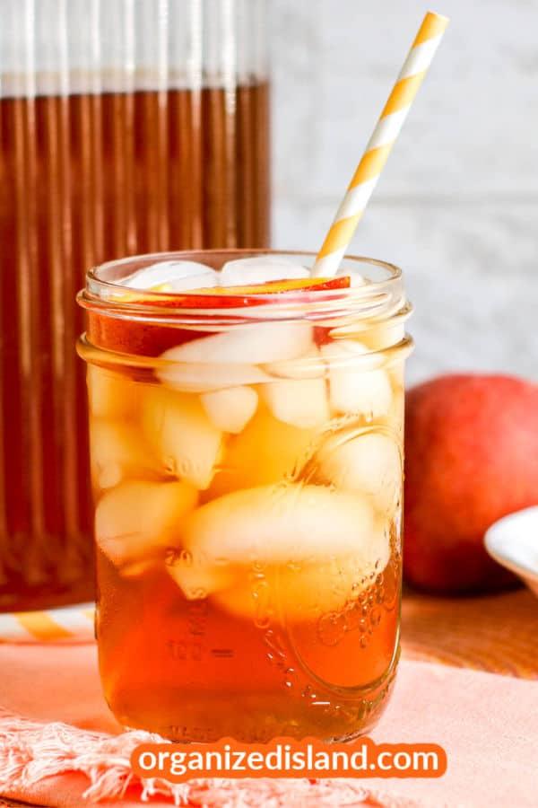 Peach Iced Tea-