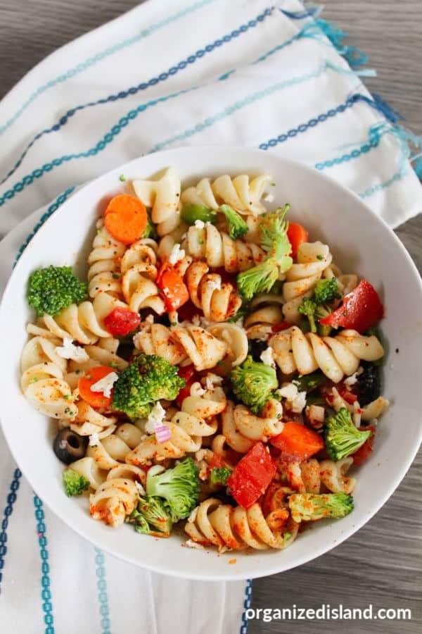 Salad Supreme Pasta Salad