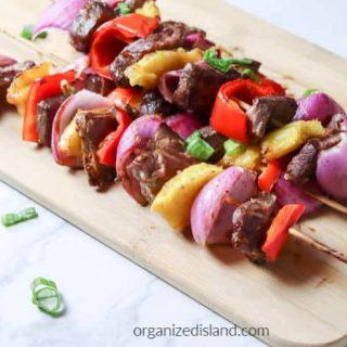 grilled steak kebobs