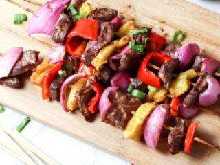 steak kebobs