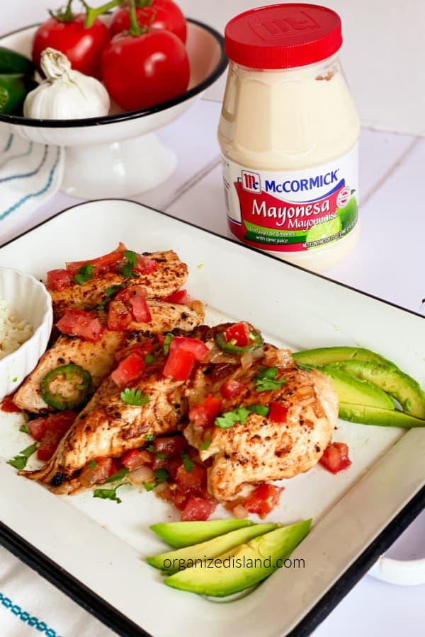 Baja Chicken Recipe