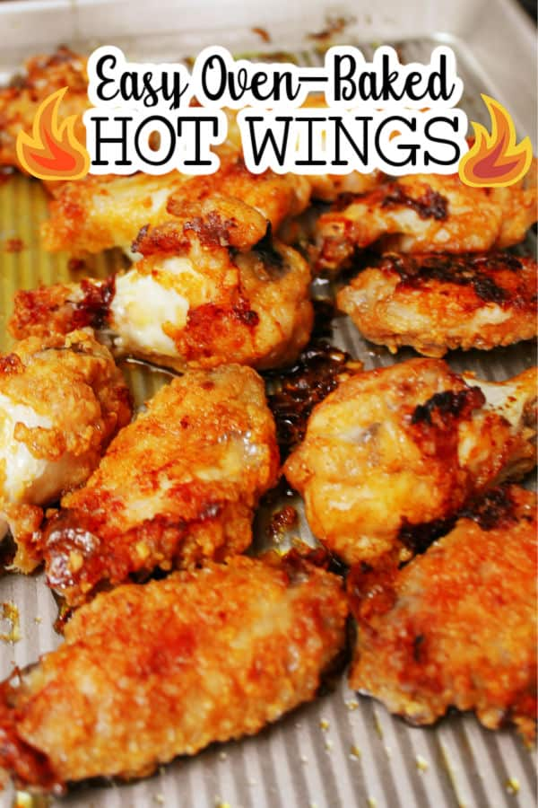 Easy Oven-baked Hot Wings