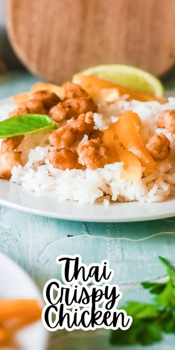 Easy Thai Crispy Chicken