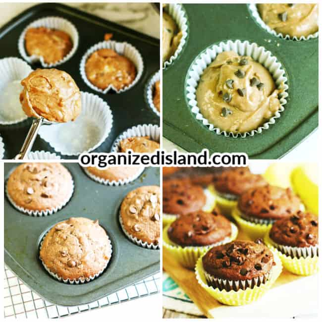 How to make Double Chocolate Chip Muffins