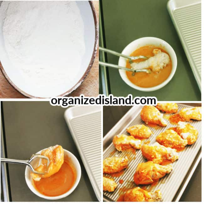 How to make Hot chicken Wings in Oven