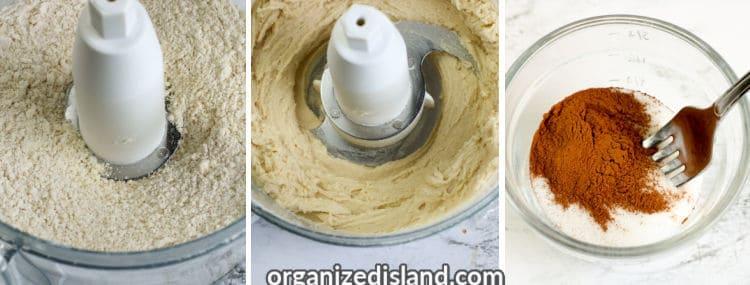 How to make peach cobbler steps 4-6