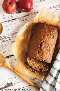 Baked Applesauce Bread