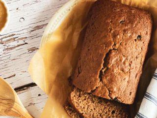 Baked Applesauce Bread
