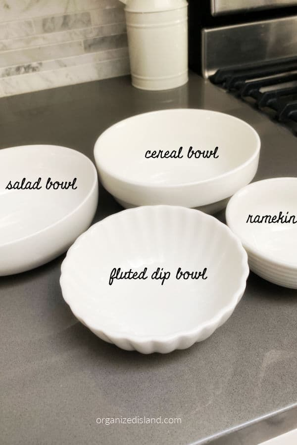 Bowls for Food Boards