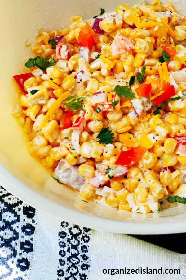 Cheesy Corn Dip Recipe