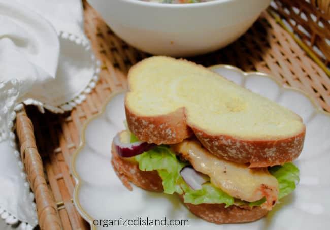 Chicken Monterey Sandwich Recipe